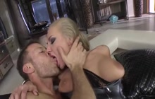 Rocco Siffredi fucking hard Kayla Green and Misha Cross