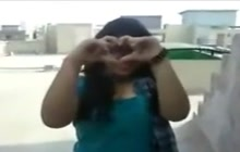 Indian Girl Shows Her Tits For The Cam